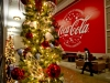 Coke headquarters holiday display